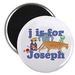 J is for Joseph Magnet