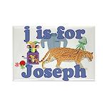 J is for Joseph Rectangle Magnet (10 pack)
