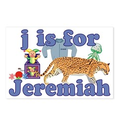 J is for Jeremiah Postcards (Package of 8)