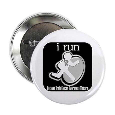 """I Run Cancer Awareness 2.25"""" Button (100 pack)"""