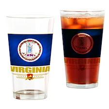 Virginia Pride Drinking Glass