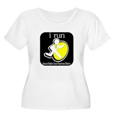 I Run Cancer Awareness T-Shirt