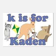 K is for Kaden Postcards (Package of 8)