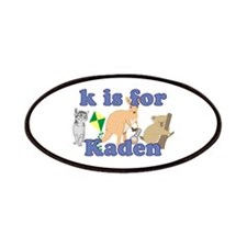 K is for Kaden Patches