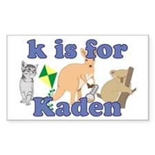 K is for Kaden Decal