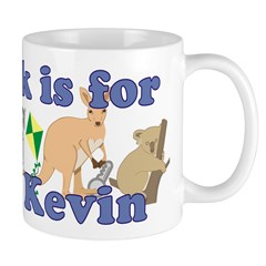 K is for Kevin Mug