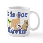 K is for Kevin Mug