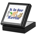 K is for Kevin Keepsake Box