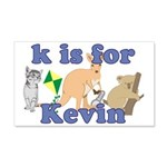 K is for Kevin 22x14 Wall Peel