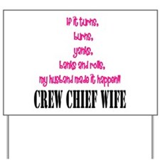 CC Wife Home/Office Yard Sign