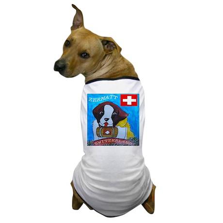 St Bernard Switzerland Dog T-Shirt