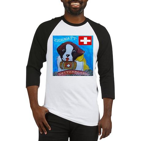 St Bernard Switzerland Baseball Jersey