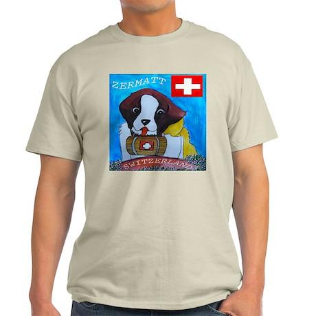 St Bernard Switzerland Light T-Shirt