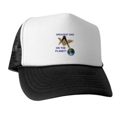 Masonic Greatest Dad Trucker Hat
