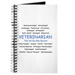 Veterinarian The All-In-One D Journal