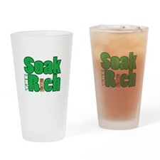 Soak The Rich... Drinking Glass