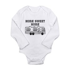 Home Sweet Home Motorhome Long Sleeve Infant Bodys
