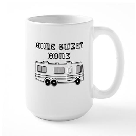 Home Sweet Home Motorhome Large Mug