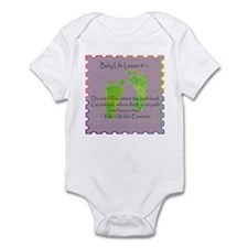 Baby Life Lessons Infant Bodysuit