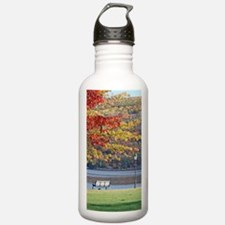 Fall Foliage Park BenchStainless Water Bottle 1.0L