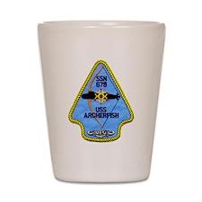 USS ARCHERFISH Shot Glass