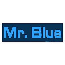 Reservoir Dogs Mr. Blue Bumper Sticker