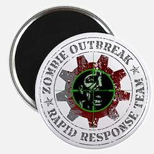 Zombie Outbreak Rapid Respons Magnet