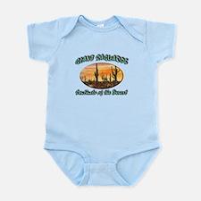 Giant Saguaros Infant Bodysuit