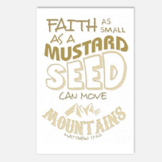 Cute Mustard Postcards (Package of 8)