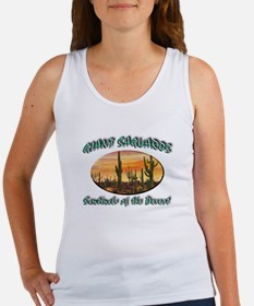 Giant Saguaros Women's Tank Top