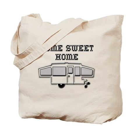 Home Sweet Home Pop Up Tote Bag