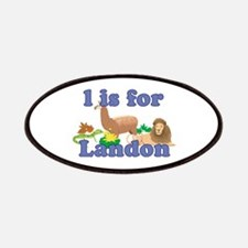 L is for Landon Patches