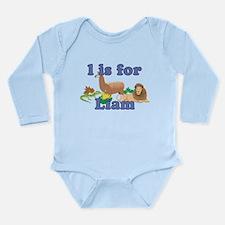 L is for Liam Long Sleeve Infant Bodysuit