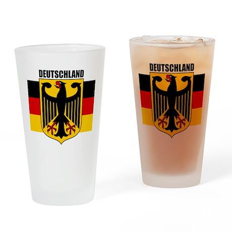 Deutschland 1 Drinking Glass