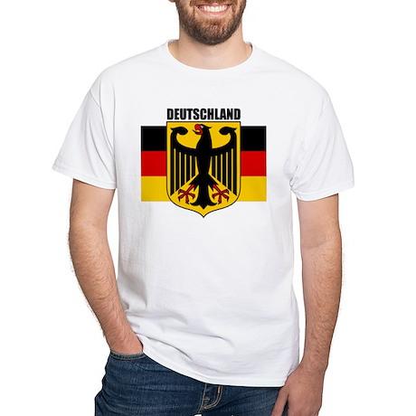 Deutschland 1 White T-Shirt