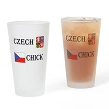 Czech Chicks Drinking Glass