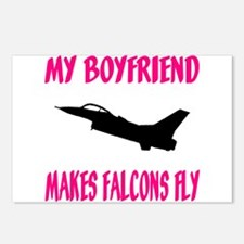 Falcon Boyfriend Home/Office Postcards (Package of