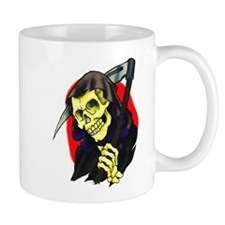 Death Grim Reaper Tattoo Mug