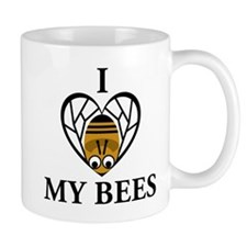 I Love My Bees Mug