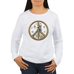 Aries Zodiac Peace T-Shirt