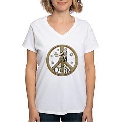 Aries Zodiac Peace Shirt