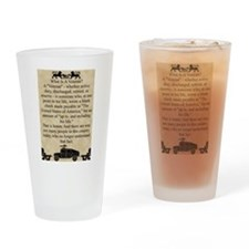 What is a Veteran Drinking Glass