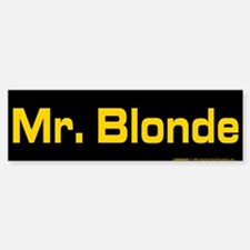 Reservoir Dogs Mr. Blonde Car Car Sticker