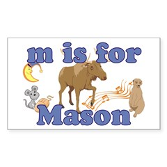 M is for Mason Decal