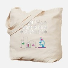 Cute Scientist Tote Bag