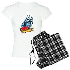 Winged Heart Tattoo Pajamas