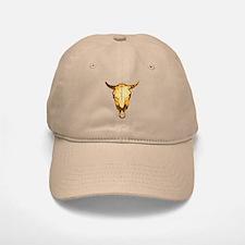 Cow Skull Baseball Baseball Cap