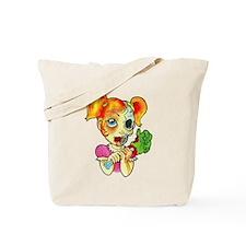 Zombie Girl Tattoo Tote Bag