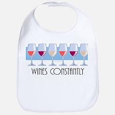 Wines Constantly Bib