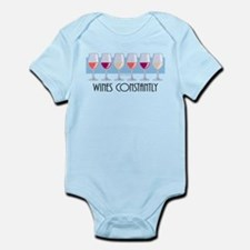 Wines Constantly Infant Bodysuit